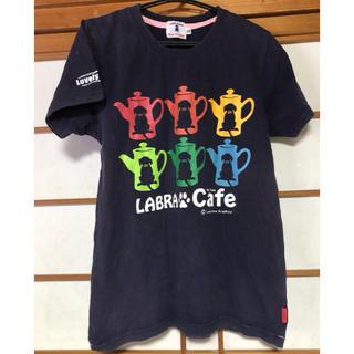 ラブラドールリトリーバー(Labrador Retriever)のラブラパピー★Tシャツ ジュニアXL(Tシャツ/カットソー)