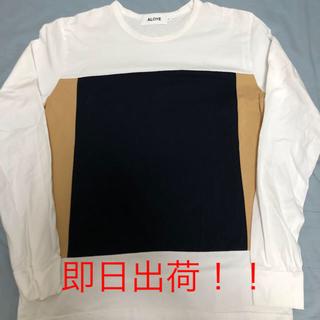 アロイ(ALOYE)のALOYE Long Sleeve T-shirts アロイ 長袖 Tシャツ(Tシャツ/カットソー(七分/長袖))