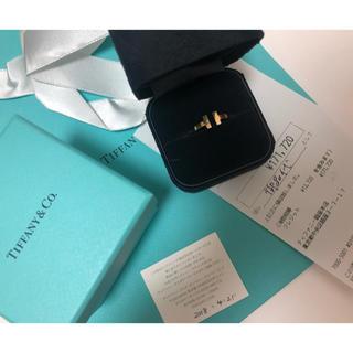 ティファニー(Tiffany & Co.)のTIFFANY ティファニー リング Tスクエアー リング(リング(指輪))
