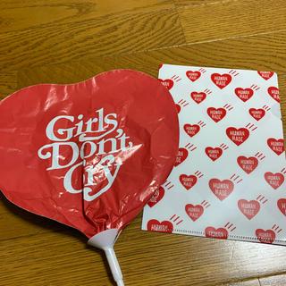 ジーディーシー(GDC)のGirls don't cry Human made バルーン クリアファイル(その他)