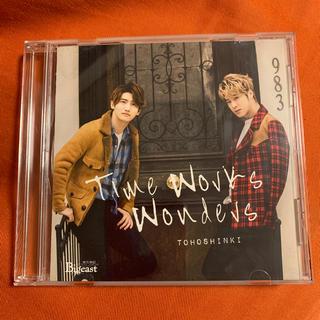 トウホウシンキ(東方神起)の東方神起 CD Time Works Wonders フォトカード付き(ポップス/ロック(邦楽))