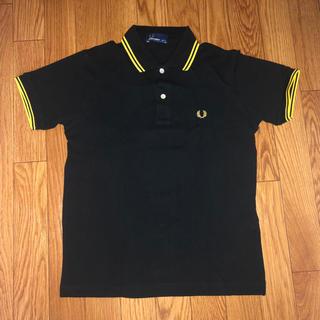 フレッドペリー(FRED PERRY)のフレッドペリー ポロシャツ 黒 ブラック S(ポロシャツ)