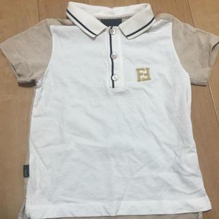 フェンディ(FENDI)のFENDI半袖ポロシャツ3A 95㎝くらい上品な色合いです(Tシャツ/カットソー)