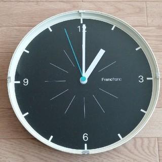 フランフラン(Francfranc)のフランフラン 掛け時計 電池付けます(掛時計/柱時計)