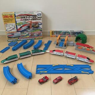 タカラトミー(Takara Tomy)のプラレール 連結!こまち&はやぶさ セット(電車のおもちゃ/車)