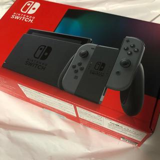 ニンテンドースイッチ(Nintendo Switch)のNintendo Switch グレー ヘチマ様専用(家庭用ゲーム機本体)