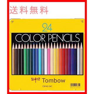 トンボエンピツ(トンボ鉛筆)のトンボ鉛筆 色鉛筆 NQ 24色 CB-NQ24C(色鉛筆)