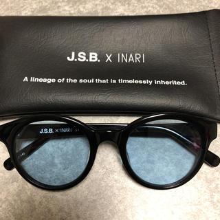 サンダイメジェイソウルブラザーズ(三代目 J Soul Brothers)のJ.S.B. INARI コラボサングラス ブルー(サングラス/メガネ)