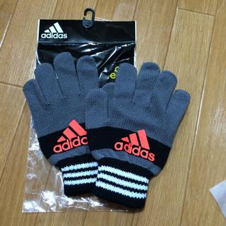 アディダス(adidas)のアディダス 手袋 ジュニアサイズ(手袋)
