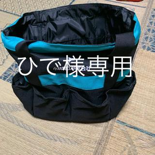 新品 未使用 電工 電気工事 工具袋 ツールバック 工具箱 収納 日用大工などに(ドラムバッグ)