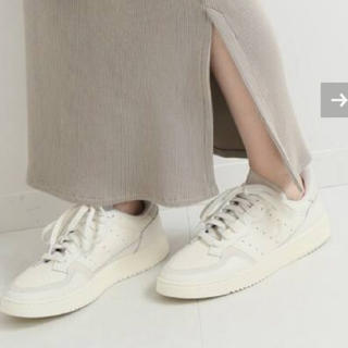 イエナ(IENA)のIENA 【adidas / アディダス】別注 SUPERCOURT 23(スニーカー)