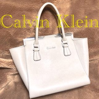 カルバンクライン(Calvin Klein)のCalvin Klein カルバンクライン ハンドバッグ グレー(ハンドバッグ)