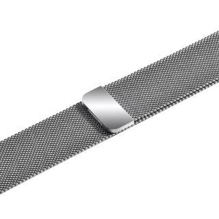 Apple watch ミラネーゼ バンド シルバー  42/44mm(金属ベルト)