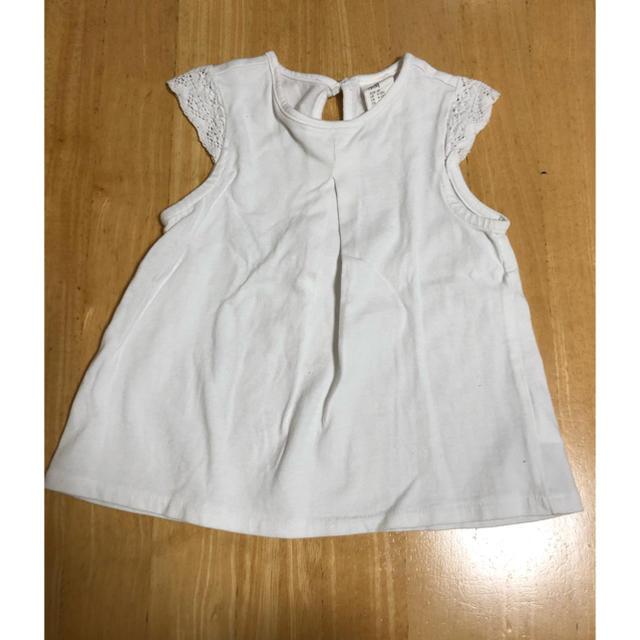 H&M(エイチアンドエム)のH&M 女の子 80 トップス キッズ/ベビー/マタニティのベビー服(~85cm)(その他)の商品写真