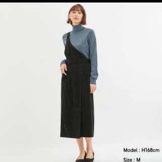 ジーユー(GU)のGU ワンショルダースカート(ひざ丈スカート)