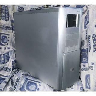 エイスース(ASUS)のCooler Master フルタワー HTPCケース アルミ シルバー 超美品(PCパーツ)