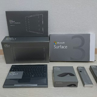 マイクロソフト(Microsoft)の値下げしました‼ マイクロソフト  Surface 3 新品 未開封(ノートPC)