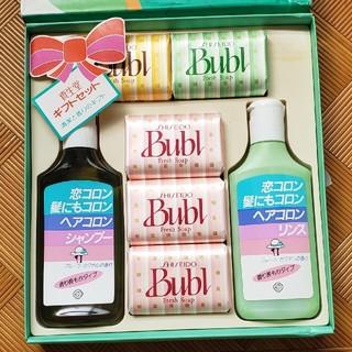 シセイドウ(SHISEIDO (資生堂))の資生堂☆バブル☆bubl☆石鹸☆ヘアコロン☆シャンプー☆(ボディソープ/石鹸)