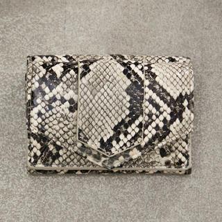 ビューティアンドユースユナイテッドアローズ(BEAUTY&YOUTH UNITED ARROWS)のハシバミ ミニウォレット 蛇柄(財布)