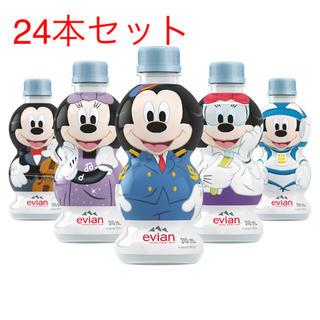 ディズニー(Disney)の新品 エビアン evian ディズニーボトル ミッキー ボトル セット ケース(ミネラルウォーター)