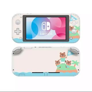 ニンテンドースイッチ(Nintendo Switch)の任天堂Switchlite 保護 スキンシール どうぶつの森(その他)