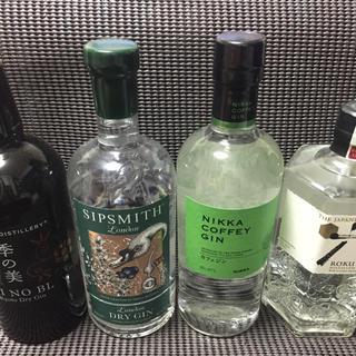 ジン 4本セット(蒸留酒/スピリッツ)