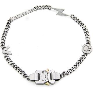 オフホワイト(OFF-WHITE)のalyx型 チェーンネックレス(ネックレス)
