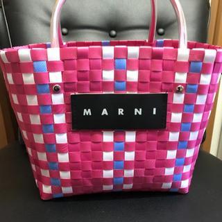 マルニ(Marni)のMARNI かごバック(かごバッグ/ストローバッグ)