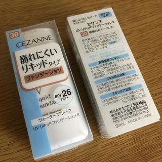 セザンヌケショウヒン(CEZANNE(セザンヌ化粧品))のセザンヌ UV リキッドファンデーション R 30 健康的なオークル系(30mL(ファンデーション)