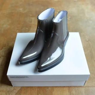 ラフシモンズ(RAF SIMONS)のCALVIN KLEIN 205W39NYC レインブーツ RAF SIMONS(レインブーツ/長靴)