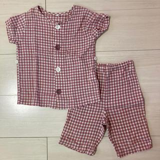 ムジルシリョウヒン(MUJI (無印良品))の無印良品 子ども用パジャマ 80(パジャマ)