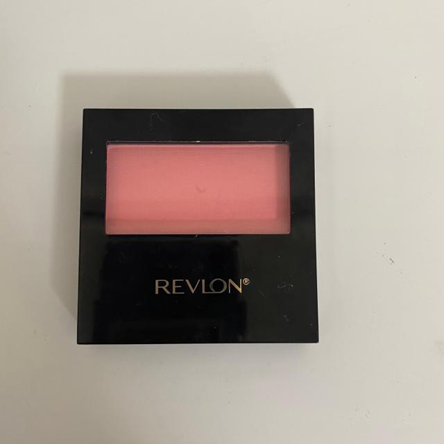 REVLON(レブロン)のレブロン マット パウダー ブラッシュ 114 ピンクスフレ(1コ入) コスメ/美容のベースメイク/化粧品(チーク)の商品写真