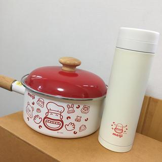 フジホーロー(富士ホーロー)のホーロー鍋 水筒 新品未使用(鍋/フライパン)