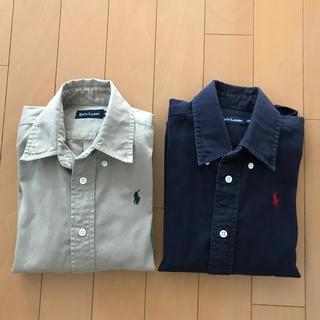 ラルフローレン(Ralph Lauren)のRALPH LAUREN   2枚セット 長袖シャツ 120(ブラウス)
