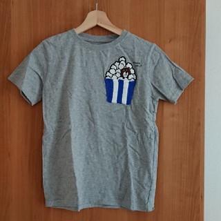 コーエン(coen)の美品☆コーエン☆ベアポップコーンTシャツ150㎝(Tシャツ/カットソー)