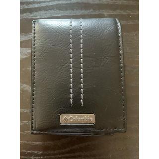 コロンビア(Columbia)のColumbia 二つ折り財布 ブラック 小銭入れ無し(折り財布)