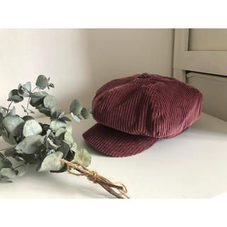 ジーユー(GU)のGU秋冬用キャスケット帽子(帽子)