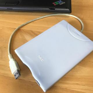 エヌイーシー(NEC)のフロッピーディスク ドライブ NEC製(PC周辺機器)