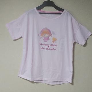 シマムラ(しまむら)のカードキャプターさくら✖️キキララ Tシャツ ピンク サイズM しまむら (キャラクターグッズ)