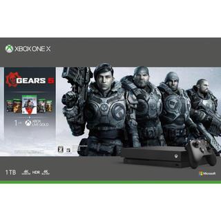 エックスボックス(Xbox)のXbox One X (Gears 5 同梱版)(家庭用ゲーム機本体)