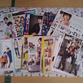 キスマイフットツー(Kis-My-Ft2)のKis-My-Ft2 2011年雑誌切り抜き(アート/エンタメ/ホビー)