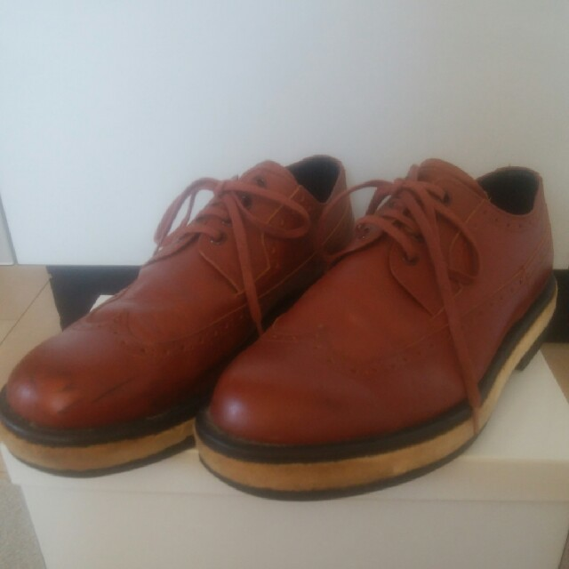 UNDERCOVER(アンダーカバー)のUNDERCOVER×ELECTRIC COTTAGE レザーシュ メンズの靴/シューズ(ドレス/ビジネス)の商品写真