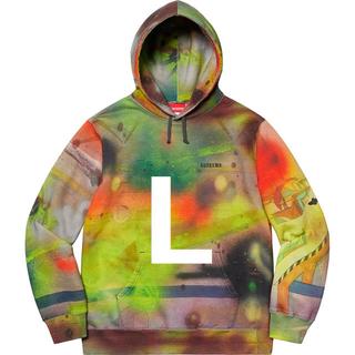 シュプリーム(Supreme)のSupreme® Rammellzee Hooded Sweatshirt L(パーカー)