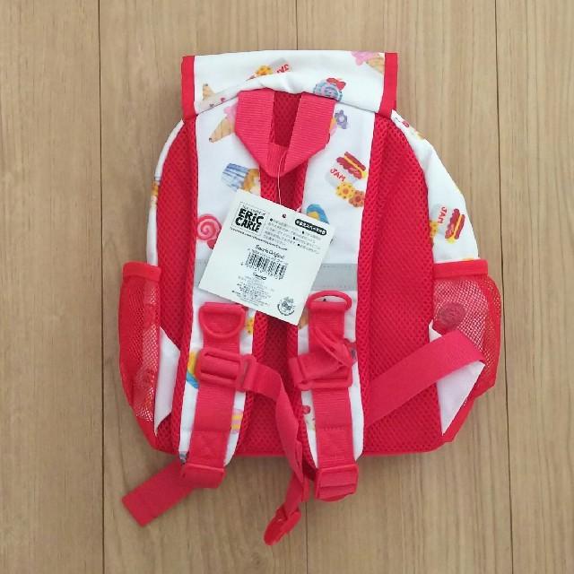 サンリオ(サンリオ)の【新品】キティ×はらぺこあおむし リュック キッズ/ベビー/マタニティのこども用バッグ(リュックサック)の商品写真
