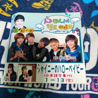 シャイニー(SHINee)のSHINee シャイニーのハローベイビー 全13 日本字幕付き(K-POP/アジア)