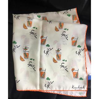 トゥモローランド(TOMORROWLAND)の新品タグ付き☆kinlochキンロックシルクスカーフspritz(バンダナ/スカーフ)