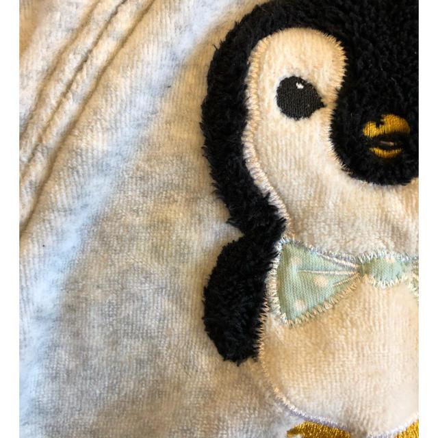 H&M(エイチアンドエム)のH&M  ペンギン はおり パーカー 70 男の子 キッズ/ベビー/マタニティのベビー服(~85cm)(その他)の商品写真