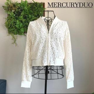 MERCURYDUO - 【美品】 マーキュリーデュオ レースブルゾン