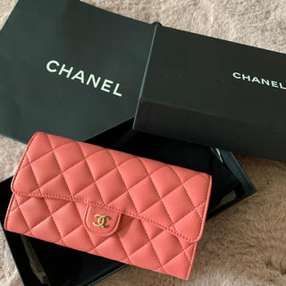 シャネル(CHANEL)のCHANEL 新品、未使用 クラシック ロング フラップ ウォレット(財布)
