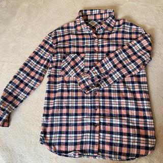 ウーム(WOmB)の⦅値下げしました⦆チェックシャツ(シャツ/ブラウス(長袖/七分))
